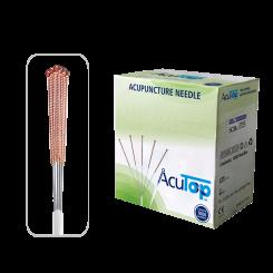 AcuTop® Akupunkturnadeln Typ 5CBs, Kupfergriff, unbeschichtet, 1000 Stk. 0.20 x 13 [mm]
