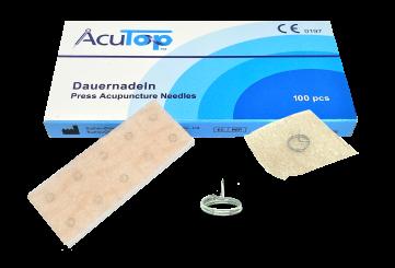 AcuTop® Dauernadeln, 100 Nadeln 0,20 x 1,0 mm