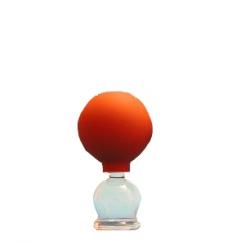 Schröpfglas mit Ball 2,5 cm