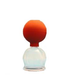 Schröpfglas mit Ball 4,4 cm