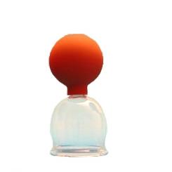 Schröpfglas mit Ball 5,0 cm