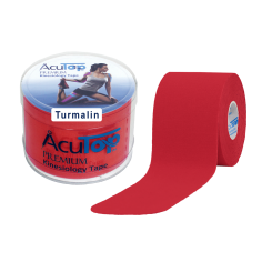 AcuTop® Tourmaline Tape red