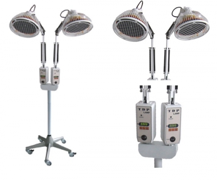 TDP-Lampe mit doppeltem Kopf